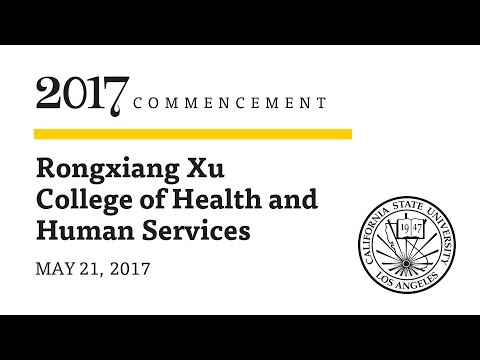 Ceremony 5  ǀ 1 p.m.  ǀ  Rongxiang Xu College of Health and Human Services