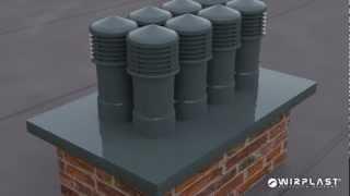 Instrukcja montażu czap kominowych Wirplast®