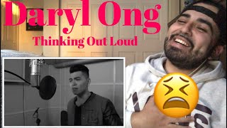 reaction to daryl ong cover thinking out loud