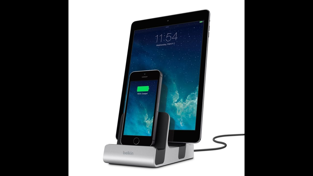 Double Iphone Charger Dock