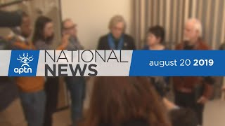APTN National News August 20, 2019 – Day School settlement, Driving school serving First Nations
