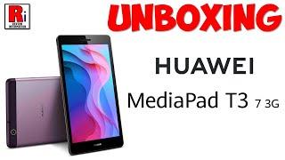 HUAWEI MEDIAPAD T3 7 UNBOXING