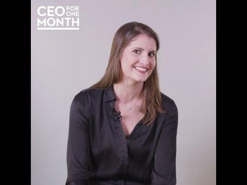 [One-to-One] Kathleen Voge, Finaliste CEO for One Month 2017