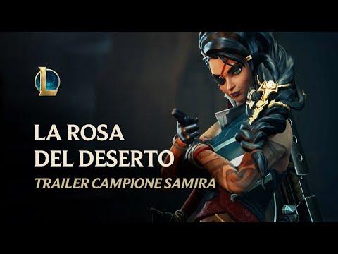 Samira: la rosa del deserto | Trailer campione - League of Legends