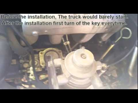 How to temporarily repair a leaking diesel injector pump, 2.8td rodeo. Temporary fix ONLY!!!
