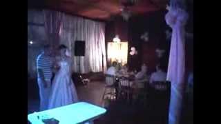 Свадьба испорчена!Мама жениха получила тортом в лицо!!!