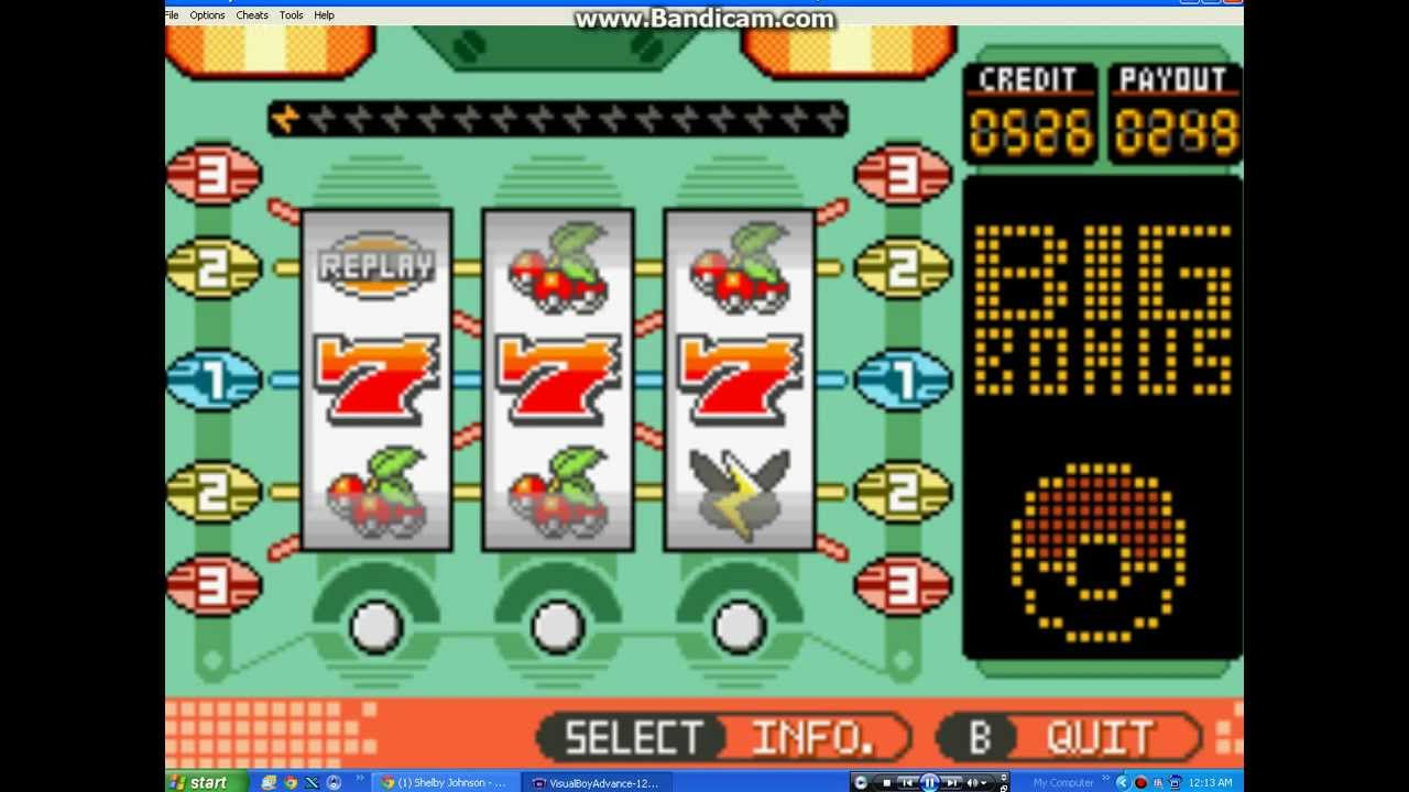 How to time the slot machines in pokemon emerald bonus casino deposit no weblogs.bnn.nl