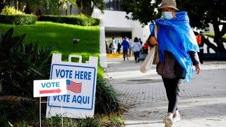 Biden oder Trump? Ansturm auf Wahllokale in Florida
