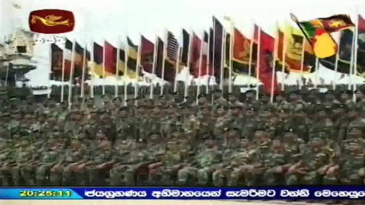 Sri Lanka Army Marks the Formal End of the Brutal War ...