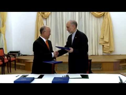 IAEA and Iran Sign Road-map Agreement