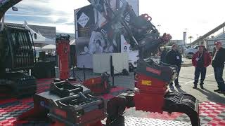 Video still for OilQuick at World on Concrete 2020