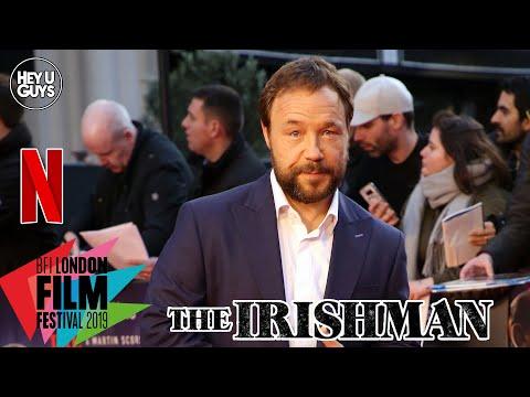 Stephen Graham on the dream job of working on The Irishman - LFF Premiere