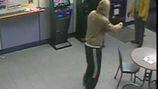 Rugby Player Tackles Robber