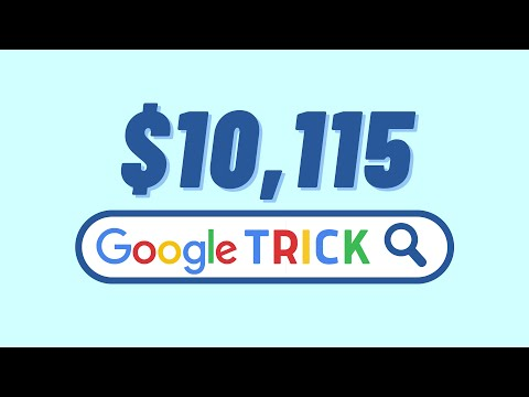 Earn $10,115 Using FREE Google Trick (Make Money Online From Home)