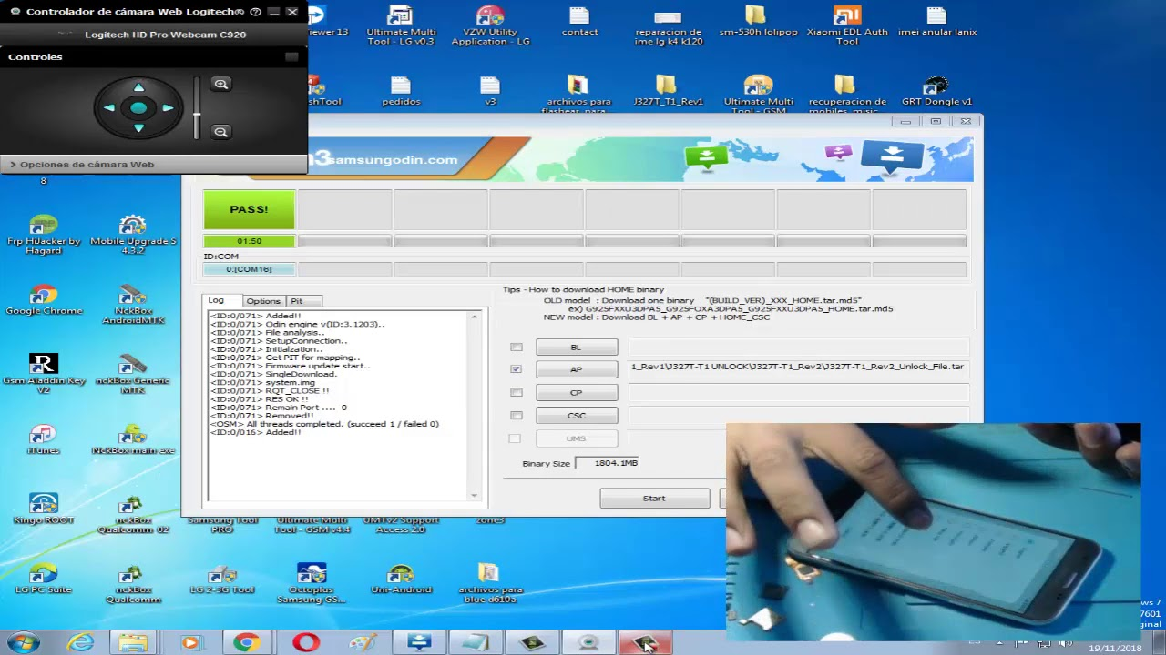 Liberar Samsung J3 Prime Con Apk Davice Unlock De Metro Pc Sm J327T1  Binario 2 Regrasando a Stock Ro