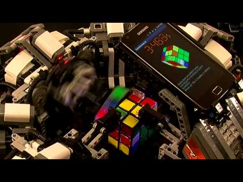 The 'CubeStormer II' is the latest LEGO Speedcuber added to the family! How fast do you think it can solve a Rubik's cube puzzle? Stay tuned to ARMflix http://youtube.com/ARMflix to find out! 