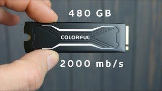 СУПЕР СКОРОСТНОЙ SSD M2. ТЕСТИРУЕМ COLORFUL CN600S  на 480GB