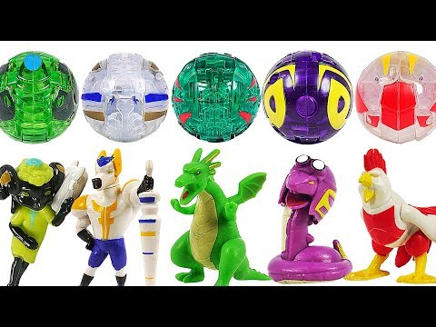 Ghost Mecard figure Dragon, Snake, Horse, Chicken, Sheep and Ghost ball appeared! #DuDuPopTOY