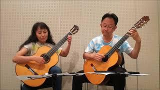 "Every Single Noteの「カンザスの麦畑」""Wheatfield in Kansas"" composed by Masaki Kamiya, played by Masaki Kamiya and Mamiko Sasaki."