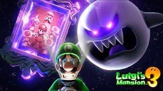 Luigi's Mansion 3 - King Boo Final Boss + Ending