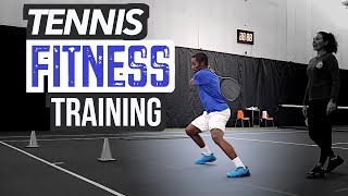 All-In-One Tennis Fitness Training - Behind the Scenes!