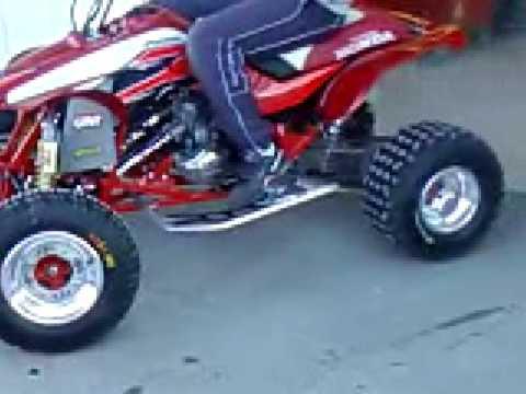 Honda Trx 250r 1989 02 Youtube