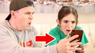 SHE FOUND DAD'S SECRET PHOTOS!!