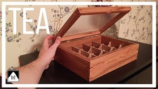 Making a Hickory Tea Box with a Plexiglass Lid