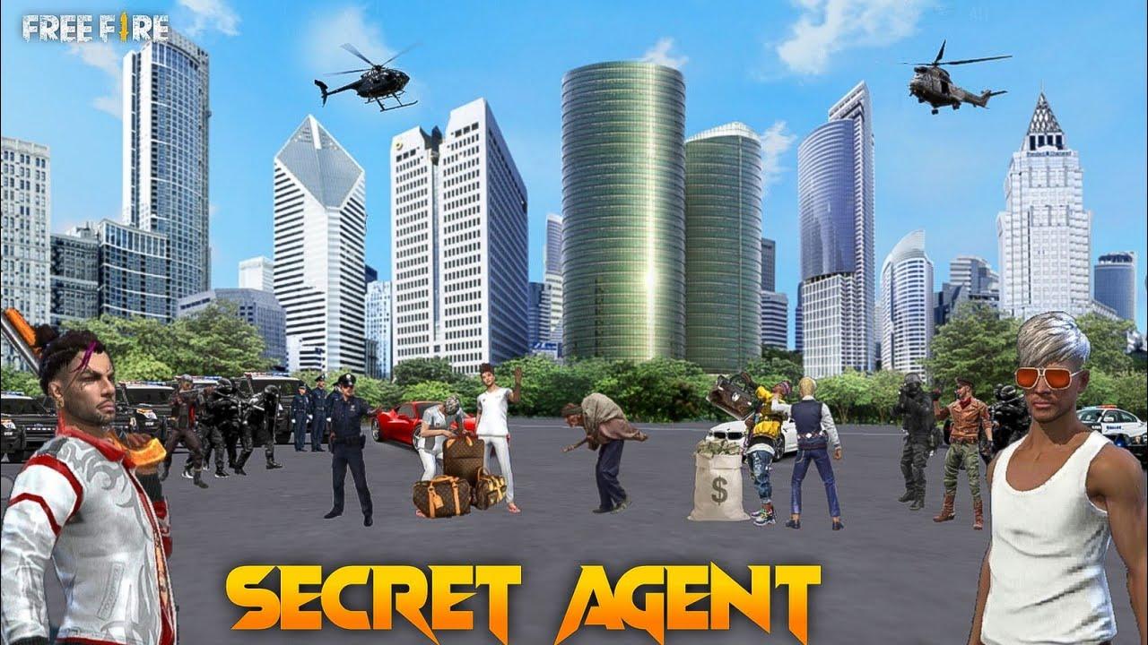 Secret Agent [ गुप्त एजेंट ] Free fire Short Action Story in Hindi || Free fire Story
