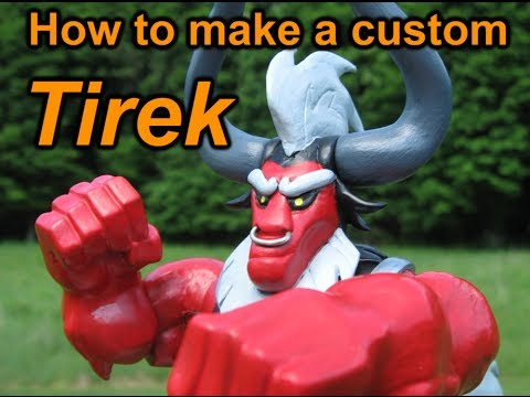 How to make a custom Tirek from My Little Pony Friendship is Magic