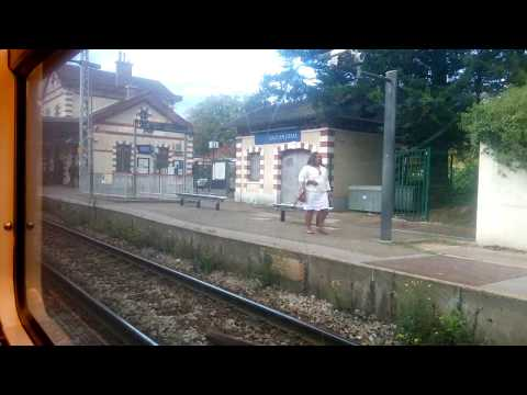RER C - Massy Palaiseau to Versailles Chantier (Train in Paris)