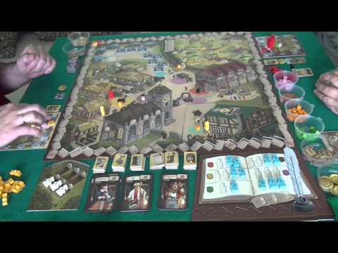 Летопись + дополнение Village Inn 1/1 - играем в настольную игру