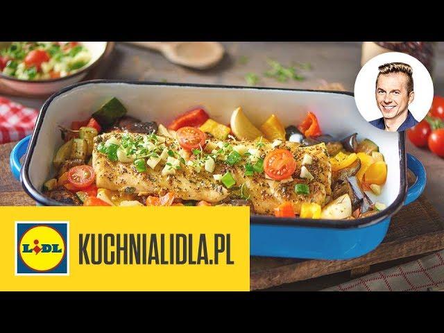 Dorsz Z Ratatouille Karol Okrasa Kuchnia Lidla Youtube