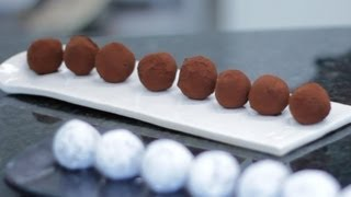 Trufa de Chocolate - Chef Diego Lozano