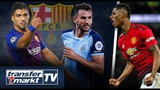 Barça sucht Suárez-Backup – Rashford besser als Ronaldo!? | TRANSFERMARKT