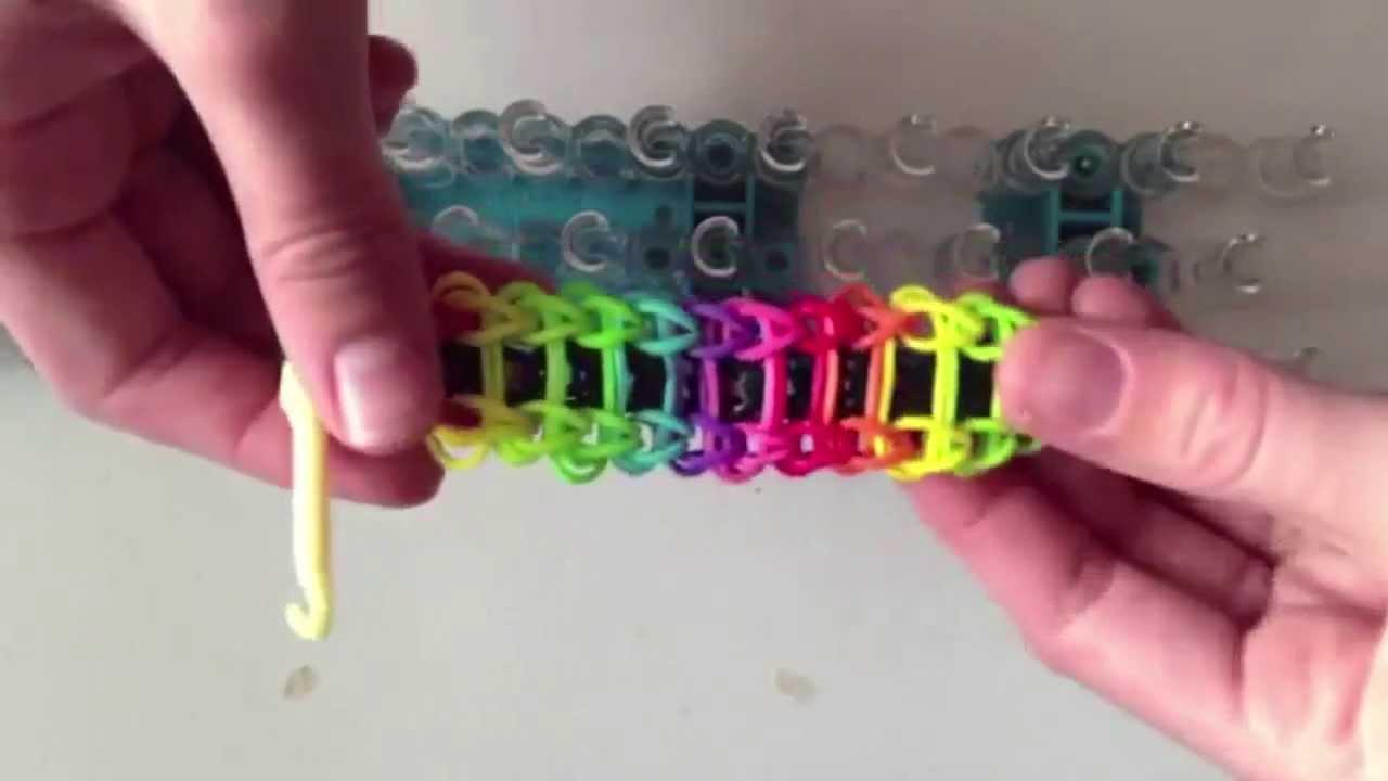 Как создать свой браслет из резинок