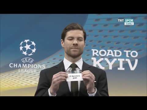 Şampiyonlar ligi Beşiktaş - Bayern Münih ile eşleşti 2017