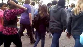 California high school earthquake drill