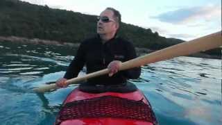 Learning Greenland Paddle - Montenegro