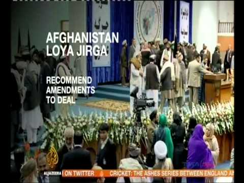 Loya Jirga on US-Afghan security deal