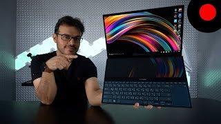 لابتوب بشاشتين 4K وبإمكانيات عالية ! Asus Zenbook Pro Duo UX581