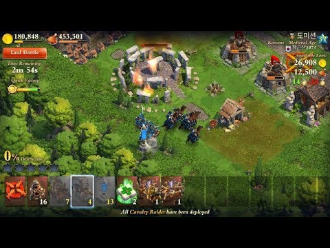 Dominations RTS Chinese Civilization Classic Age ~ Android and IOS New Update August 2, 2017