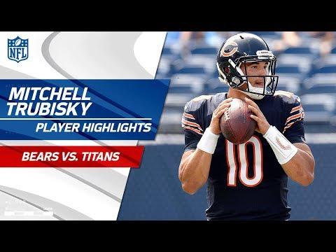 Every Mitchell Trubisky Play vs. Tennessee | Bears vs. Titans | Preseason Wk 3 Player Highlights
