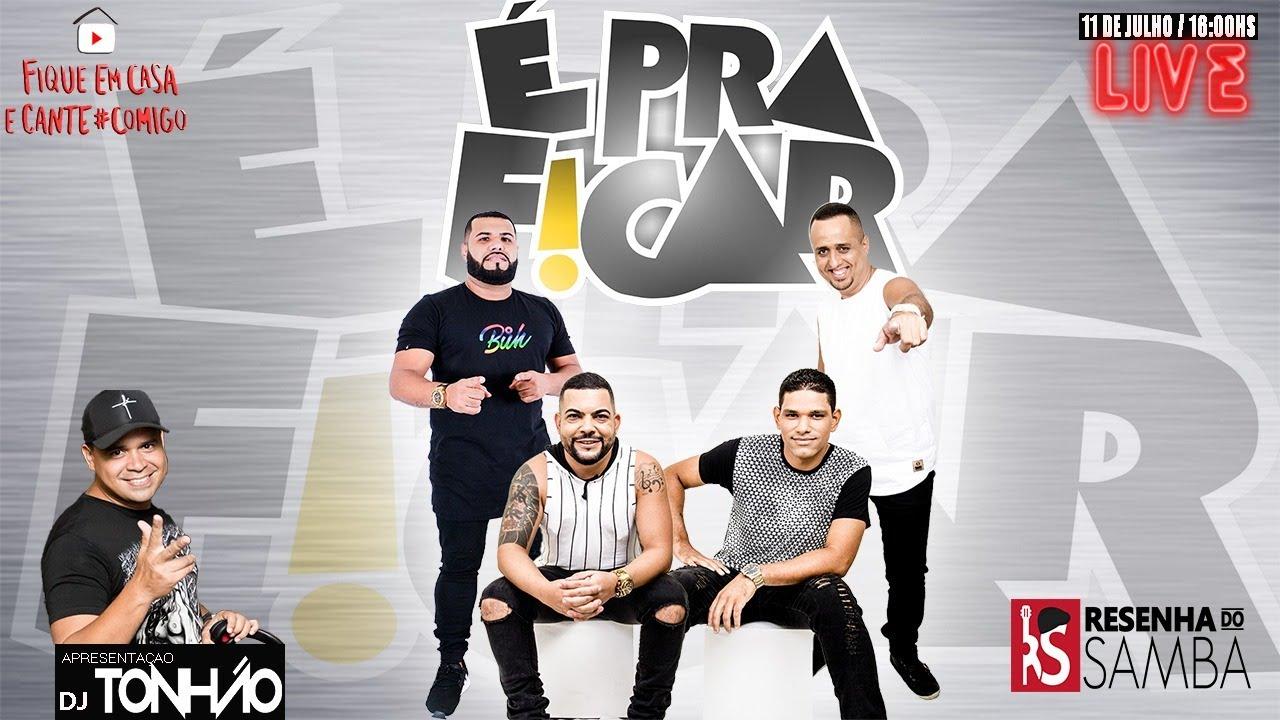 Live do É Pra Ficar #Fiqueemcasa e Cante #Comigo