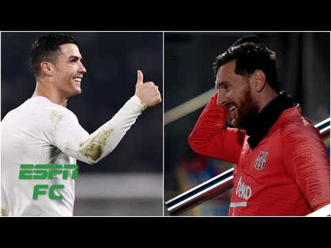 Reacting to Cristiano Ronaldo's comments about Lionel Messi leaving Barcelona | Extra Time