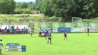 European Rugby 7's - Zagreb 2015 Day 2 - Norway - Slovenia (14:22)