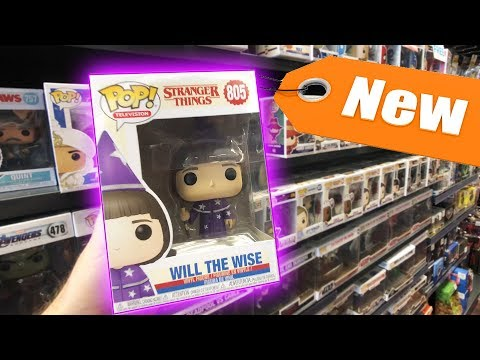 New Stranger Things Funko Pops Found at GameStop