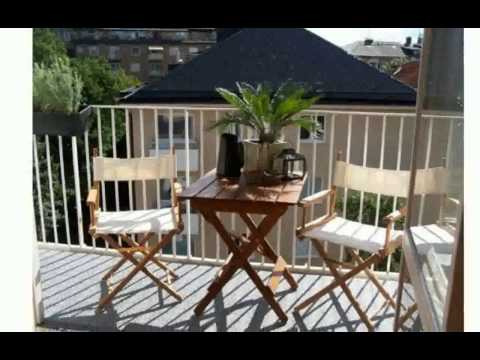 balkon dekorieren. Black Bedroom Furniture Sets. Home Design Ideas
