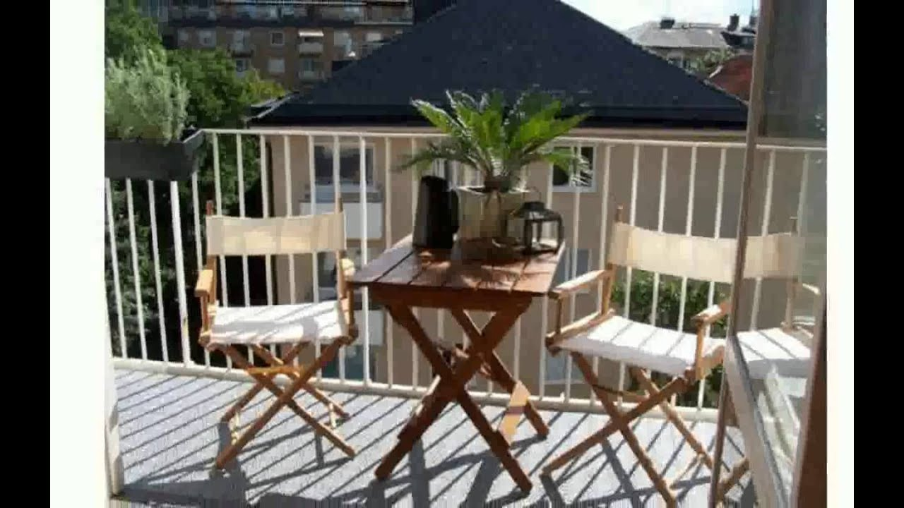 balkon dekorieren youtube. Black Bedroom Furniture Sets. Home Design Ideas