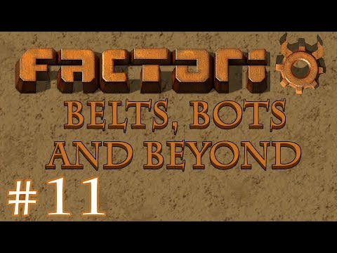 Factorio - Belts, Bots and Beyond: Part 11 Adding Solar power and starting a copper train